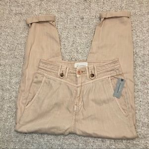 Anthropologie Petites NWT Cuffed Trousers
